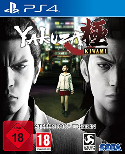 Yakuza Kiwami D1 Edition SteelBook [PlayStation 4]