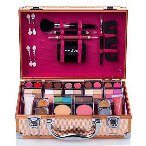 Maúve Train Case Makeup Kit