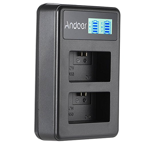 Docooler Andoer Np-Fw50 Display Led Li-Ion Carregador De Bateria Pacote 2-Slot Kit Cabo Usb Para Sony Alpha A7 A7R A7S A5S A6000 Nex-3 Nex-5 Nex-6 Nex-7 Nex-C3 Câmera Digital Slr Nex-3