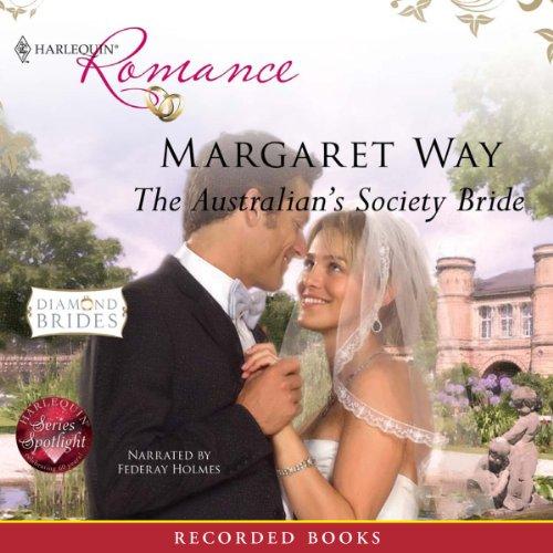 The Australian's Society Bride audiobook cover art