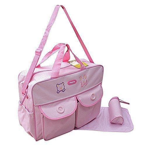 GMMH XXL 3 stuks baby kleur roze luiertas verzorgingstas luiertas babytas reis kleurkeuze