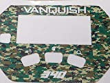 Detecting Innovations Vanquish 340 - Adhesivo para teclado (340), color verde