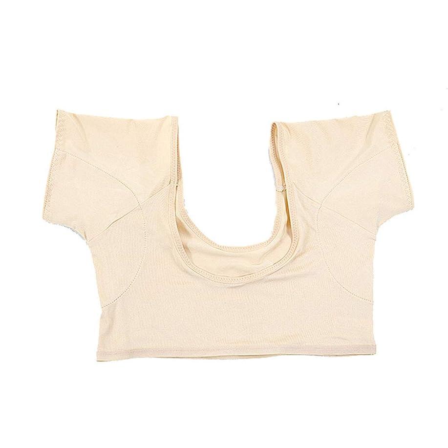 めまいトランザクションまだ脇の下汗パッド洗濯可能な脇の下汗吸収シールドドレスシールドパッド女性と男性用汗ガード,M