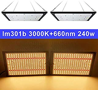 led Grow Light Board LM301B 288Pcs Chip Full Spectrum 240w Samsung 3000K/660nm Veg/Bloom Meanwell Driver DIY Parts