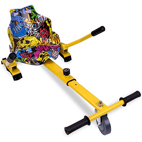 RCB Hoverkart pour Hoverboard Accessoires pour Gyropode Auto-équilibré Gokart Longueur Ajustable...