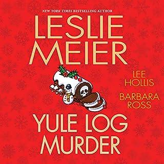 Yule Log Murder audiobook cover art