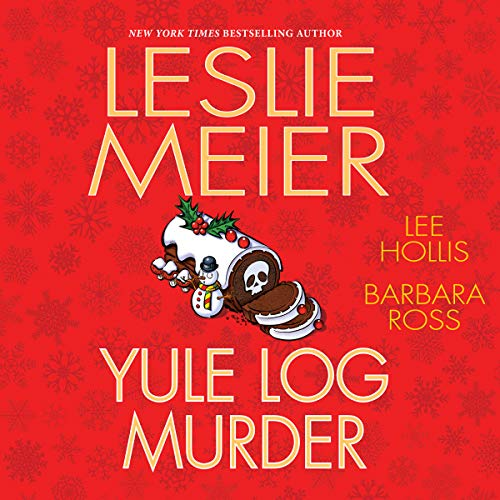 Yule Log Murder audiobook cover art