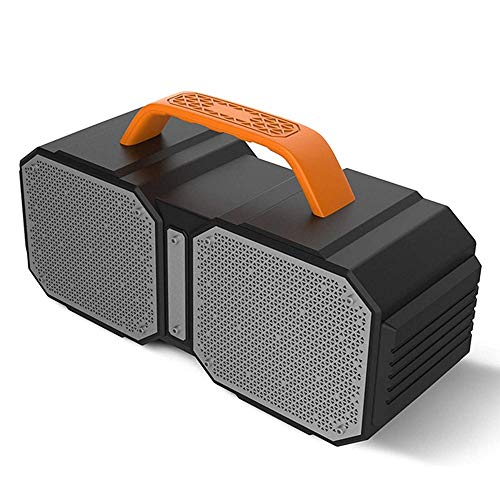 NCRD Altavoces Bluetooth, altavoz, al aire libre, portátil, impermeable, altavoces inalámbricos, Bluetooth 5.0, estéreo fuerte, incorporado en subwoofer 40W Estéreo inalámbrico de alta fidelidad altav