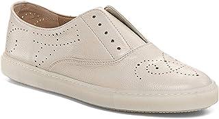 Sneaker Slip on Fratelli Rosseti Hobo Sport Color Riso in Pelle - 74709 PL23758 - Taglia