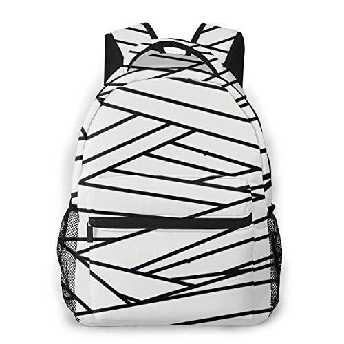 LNLN Rucksack Rucksack Anime Bandages Fashion Outdoor Shoulders Bag Durable Travel Camping Backpack for Adult