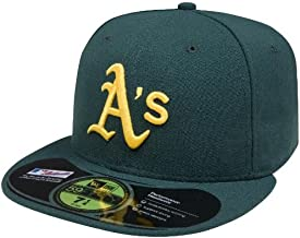 MLB Oakland Athletics Authentic On Field Road 59FIFTY Cap, Green