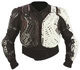 HEYBERRY Protektorjacke Brustpanzer Protektorenhemd Amour Jacket schwarz weiß Größe M