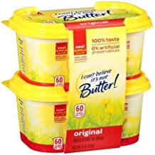 I Cant Believe Its Not Butter Original Yellow Spread, 15 Ounce -- 6 per case.
