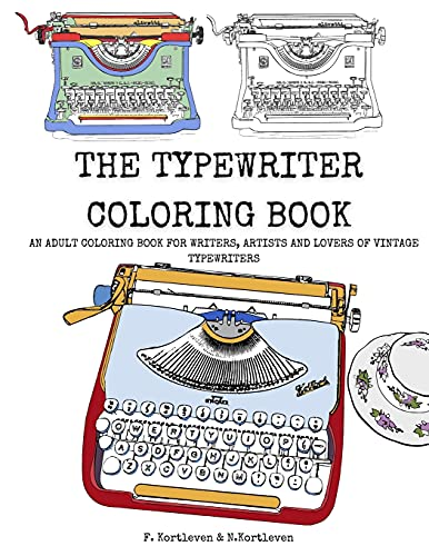 The Typewriter Coloring Book: An...