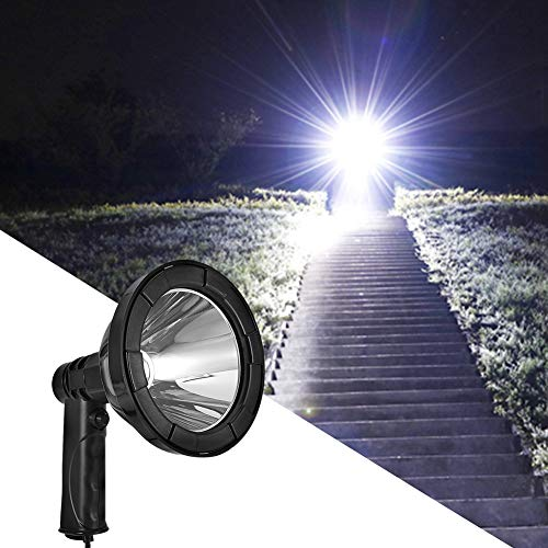LED handschijnwerper, 30W 12V High Belle draagbare zaklamp voor Camping Exploration Outdoor