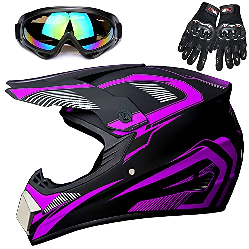 Youth Off-Road Motorcycle Helmets,Children's...