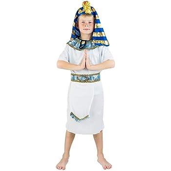 Bodysocks® Disfraz de Faraón Egipcio para Niños: Amazon.es ...