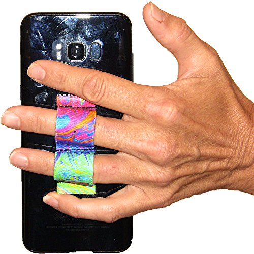 LAZY-HANDS 2-Loop Phone Grip - FITS Most - Oil Paints
