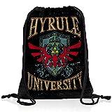 style3 University of Hyrule Rucksack Tasche Turnbeutel Sport Jute Beutel, Rucksack Farbe:Motiv 2