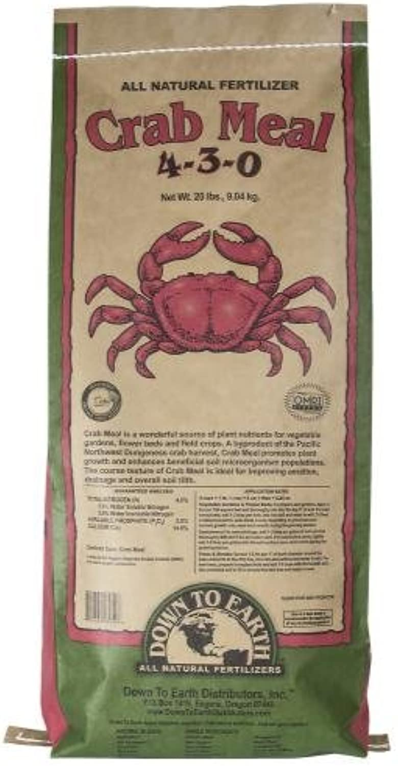 Down To Earth Crab Meal  20 lb