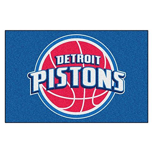 Fanmats 11906 - NBA Detroit Pistons arranque Rug 19'' x 30''
