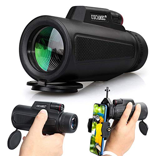 Lowest Prices! Chichen 10X42 Monocular High Power Low Night Vision Waterproof for Bird Watching Hiki...
