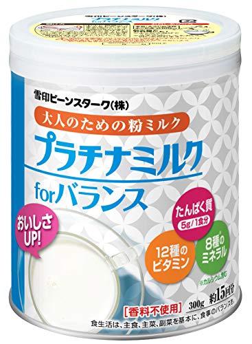 雪印 プラチナミルクfor バランス やさしいミルク味 300g