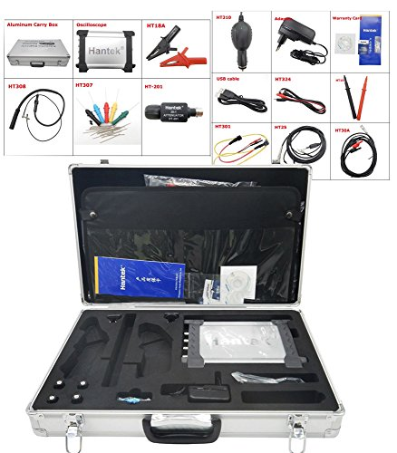 Buy Bargain DSO3064 Kit V 60MHz 4CH 200MS/s Automotive Diagnostic Equipment Frenquency Counter 10K-1...