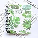 Hosaire 1X Cuaderno,Diario Libreta Libro de firmas Bodas,Travelers Notebook, Cuaderno Agenda, Cuaderno de Espiral 80 páginas El Papel es Liso para Escribir y Son fáciles de Usar (Hojas)