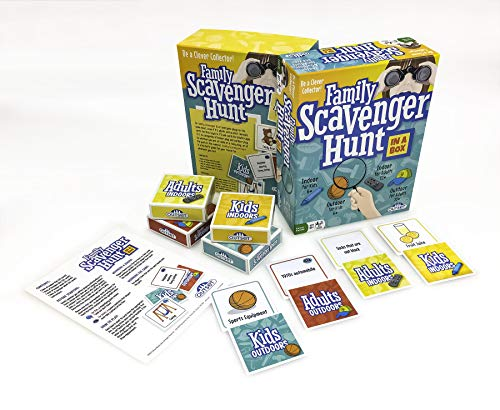 Family Scavenger Hunt Game (Amazon Exclusive) – Contains Over 200 Cards – Fun Party Game for The...