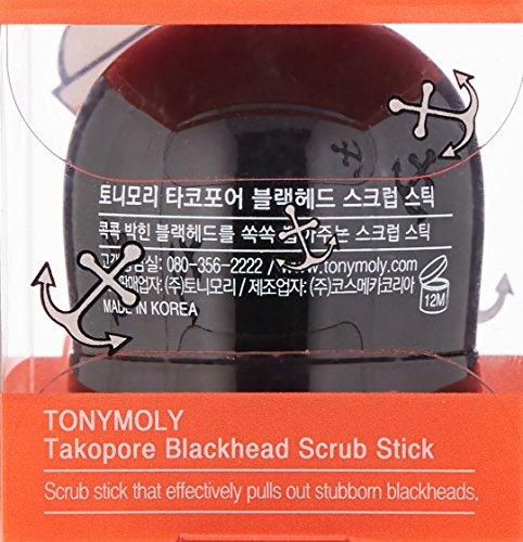 TONYMOLY Tako Pore Blackhead Scrub Stick 4