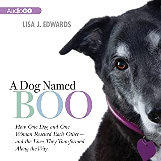 A Dog Named Boo audiobook cover art