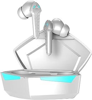 B Blesiya P36 Bluetooth 5.0 True Wireless Gaming hörlurar 65 ms låg latens i örat premiumljud med djup bas för brusreducer...