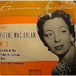 GEORGES MONTÉRO chante PIERRE MAC ORLAN belle de mai/Fanny de Lanninon VG++