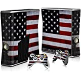 Skin Stickers for Xbox 360 Controller - Vinyl High Gloss Sticker for X360 Slim Wired Wireless Game Controllers - Protectors Stickers Controller Decal - Blue Daemon [ Controller Not Included ]
