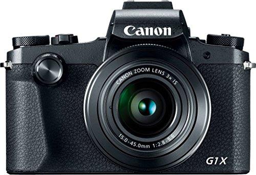 Canon PowerShot G1 X Mark III 24.2MP 3X Zoom Lens Digital Camera (Black) + Bundle