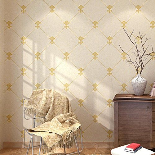 BIZHI Vliestapete Diamant Tapete TV Hintergrund dekorative Tapete (10m * 0.53m), 0.53m*10m