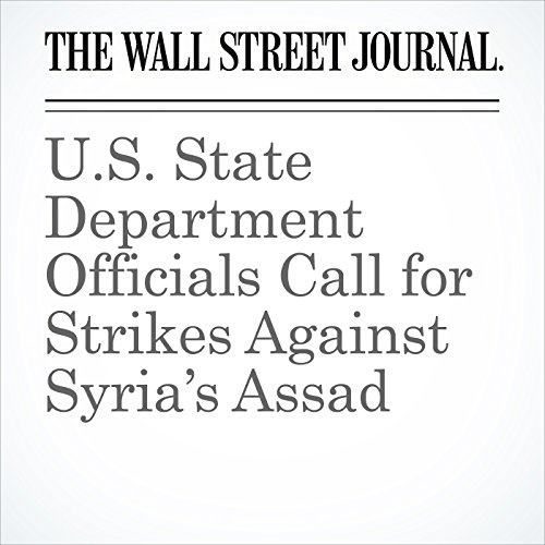 U.S. State Department Officials Call for Strikes Against Syria's Assad cover art