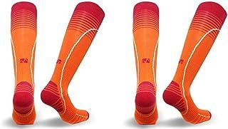 Vitalsox Standard Eurosock Performance Compression OTC, Orange 2-Pair, Medium