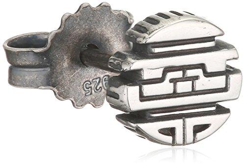 caï men Herren Ohrstecker 925 Silber vintage-oxidized