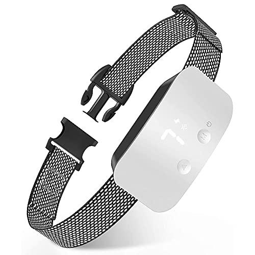 YODZKJ Collar de ladridos para Perros Collar de Entrenamiento antiladridos Recargable con 7 topes de sensibilidad Ajustables Suministros para Mascotas de ladridos de Perro