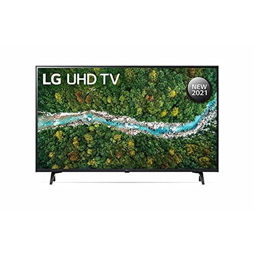 LG 109.2 cm (43 Inches) 4K Ultra HD Smart LED TV 43UP7740PTZ (Black) (2021 Model)