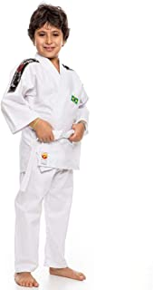 2ab95acdc Kimono Dragão P Judo Kids Infantil Branco