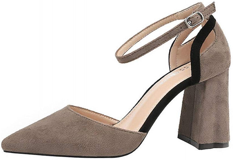 KERVINFENDRIYUN YY4 Sexy sexy Einzelschuhe für Damen mit Spitzen Sandalen für Damen mit hohen Abstzen (Farbe   grau, Größe   35)