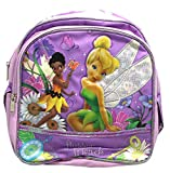 Disney Fairies Tinker Bell and Iridessa Floral Mini Toddler Backpack (10in)