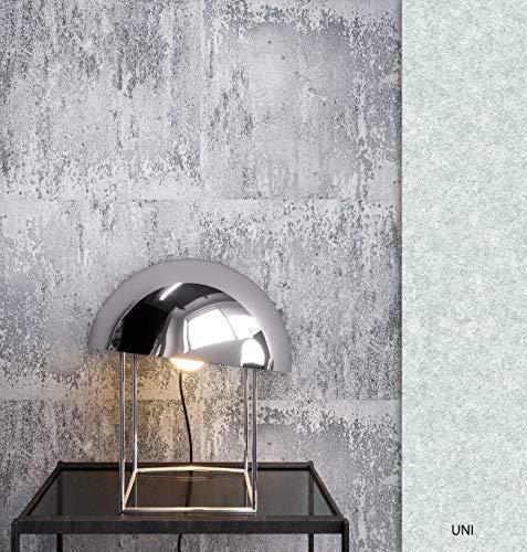NEWROOM Tapete Grau Eisen Blech Vintage Vliestapete Grau Vlies moderne Design Optik Metalltapete Eisentapete Metall Optik Loft inkl. Tapezier Ratgeber