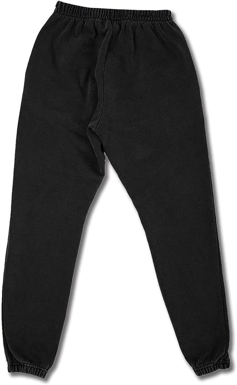 Men's Women's Sweatpants Flower Blue Wooden Board Athletic Running Pants Workout Jogger Sports Pant