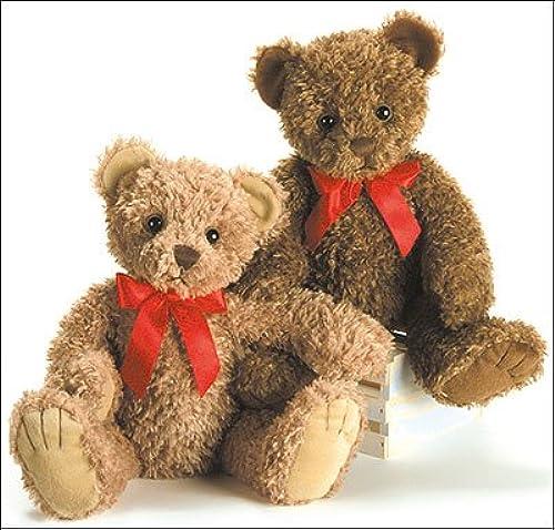 Nuevos productos de artículos novedosos. First First First & Main Inc. 1715 Tucker marrón Bear Plush  solo cómpralo
