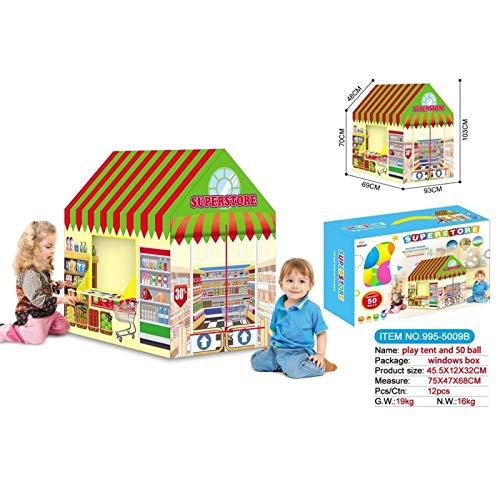 ATAA Tienda Supermercado con Bolas Tienda de campaña para niños Supermercado con Bolas Incluidas