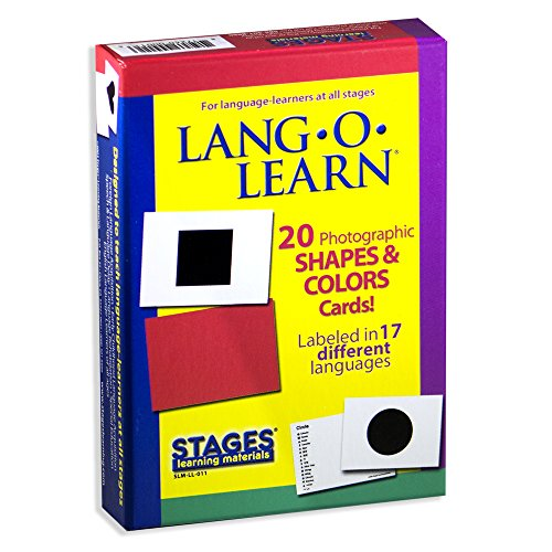 Lang-O-Learn Cards - Shapes and Colors by Stages Publishing